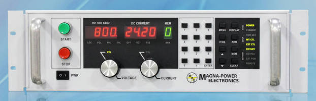 Programmable DC Power Supplies deliver high accuracy rates.