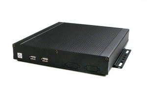 Fanless Computer features dual core CPU and 1080p graphics.