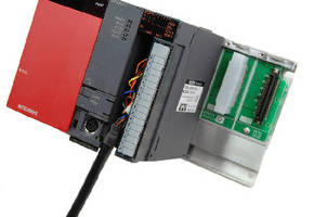 Control Unit connects laser sensors and PLCs.
