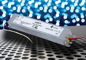 Constant Current LED Power Supplies have low-profile design.