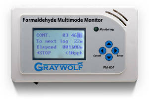 Formaldehyde Meter suits indoor air quality applications.