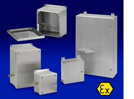 Electrical Enclosures are built for hazardous locations.
