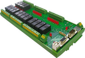 USB/RS-232 Relay I/O Controller has isolated design.