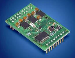 Servo Amplifier offers power density of 250 W at 12 cm�.