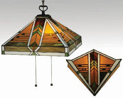 Art Glass Lighting comes in pendant, sconce, and floor models.