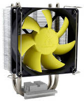 Lightweight CPU Cooler is designed for quiet operation.