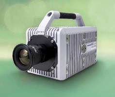 High Speed Camera features 12-bit dynamic range.
