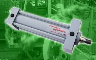 Metric Tie-Rod Cylinders suit hydraulic actuation applications.