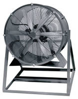 Portable Worker Cooling Fan provides spot ventilation.