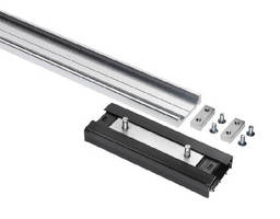 Linear Motion Track System carries maximum of 265 lb.
