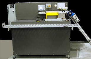 Semi-Automatic Case Packer has compact footprint.