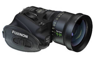 Zoom Lens features detachable servo drive unit.