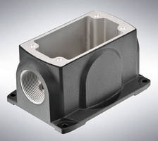 Aluminum Connection Boxes are made to be flexible, user-friendly.
