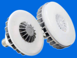 Low-Profile, Dimmable, 16 W LED Lamps replace 75 W incandescents.