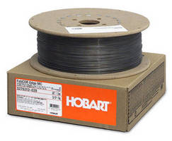 Metal-Cored Wire offers high-quality welds, reduced cleanup.