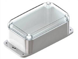 Plastic Electronic Enclosures feature waterproof design.