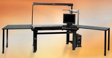 Vibration Isolation Workstation accommodates myriad of applications.