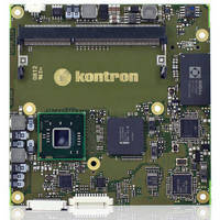 Compact Computer-on-Module offers entry-level multicore solution.
