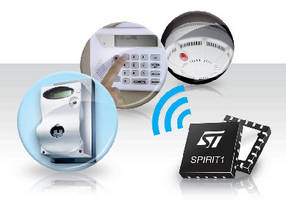 Wireless Transceiver targets smart meter applications.