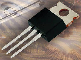 High-Voltage Power MOSFETs offer on-resistance down to 0.130 ohm.