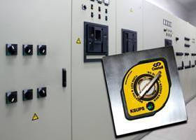 Solenoid-Controlled Interlock  delivers UPS system safety.