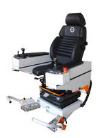 Operator Armchair System offers 270� rotating base.