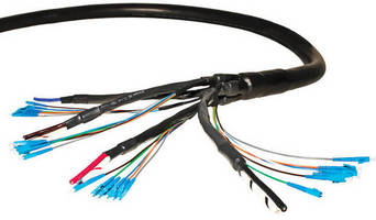 Custom Hybrid Cables facilitate remote radio head installation.