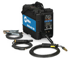 Portable Welding System combines MIG, stick, and TIG processes.