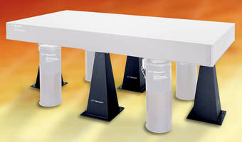 Earthquake Restraint System secures optical tables.
