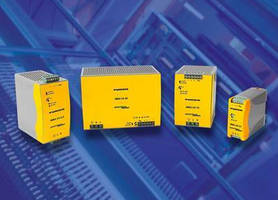 AC-DC Switching Power Supplies deliver 2.5, 5, 10, or 20 A.