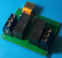 Relay Modules are rated at 16 A at 250 Vac, 24 Vdc.