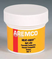 Silver-Filled Vacuum-Compatible Grease enhances thermal transfer.