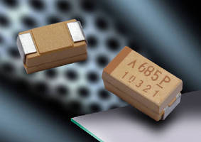 Polymer Tantalum Capacitors suit high voltage applications.