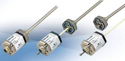Linear Position Transducers offer minimal replacement downtime.