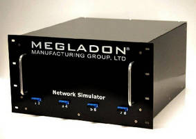 Network Simulators utilize hardened lens contacts.