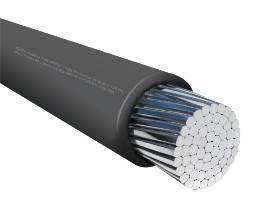 Aluminum Photovoltaic Wire  fits DC feeder cable runs.