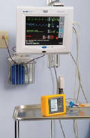 Medical Device Tester simulates saturation of peripheral oxygen (SpO2).