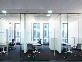 Acoustical Ceiling Panels suit open office environments.