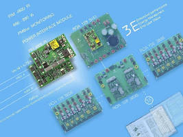 Power Interface Module enables monitoring via PMBus.
