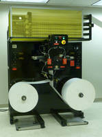 Automatic Butt Splicer has compact design, roll lifting ability.