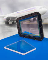 Custom Sapphire Windows protect sensors on aircraft.