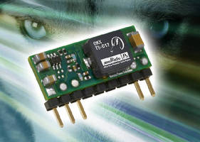 DC-DC Converters target embedded point-of-load applications.