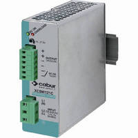 DIN Rail Mount Power Supplies feature 2-phase input.