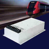 AC/DC Switch Mode Power Supplies suit railway environments.