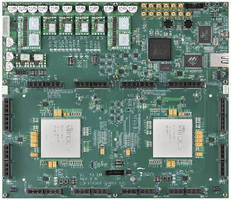 Logic Module prototypes up to 40 million ASIC gates capacity.
