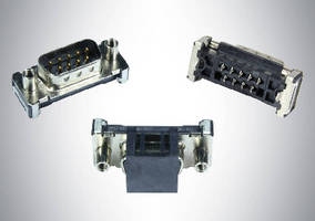 D-Sub SMT Connectors feature straight surface mounts.