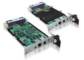 OpenVPX SBCs support 10 Gigabit Ethernet and PCI Express 3.0.