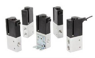 Solenoid Valve features balanced poppet design.