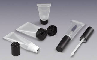 Tubes with Caps are designed to distinguish cosmetic brands.