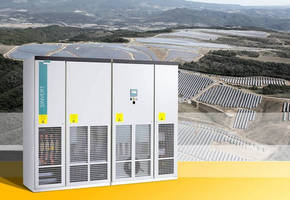 Central Inverters deliver optimal output for PV power plants.